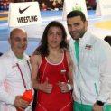 Браво! Врачанка взе трети златен медал за България на европейското по борба