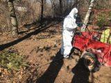 """Премахнати са останките от животни на """"Ботев път"""", районът се дезинфекцира"""