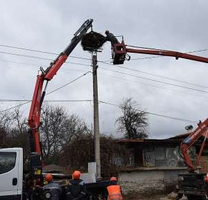 ЧЕЗ монтира 533 платформи за щъркелови гнезда в Западна България