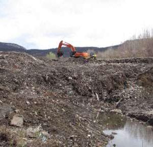 Започна рекултивацията на общинското сметище в Белоградчик