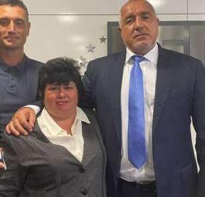 Новият кмет на с. Соколаре Йошка Цветкова се срещна с Бойко Борисов