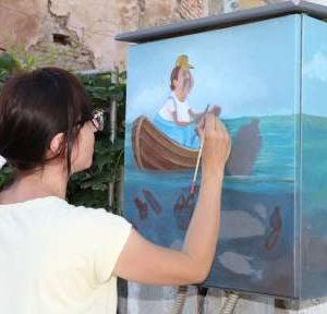 """Художници творят в рамките на Фестивала на изкуствата """"Дунавски вълни"""""""